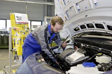 Daimler Produktionsmitarbeiter